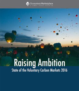 Voluntary Carbon Markets 2016 - OurOffset